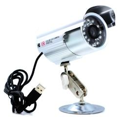 Caméra de surveillance avec enregistreur intégré