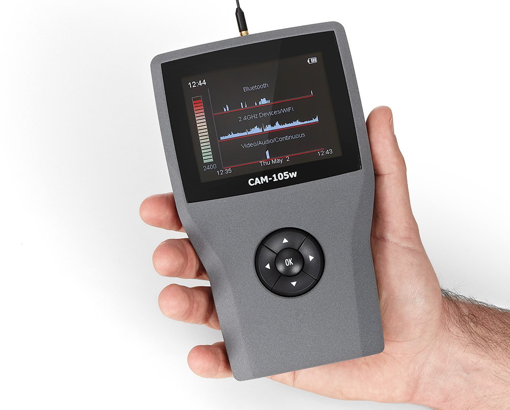 CAM-105W wireless Anti Afluisterapparatuur