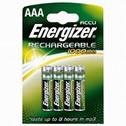 4x AAA Energizer Rechargeable 1000mAh