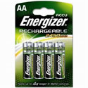 4x AA Energizer Rechargeable 2450mAh
