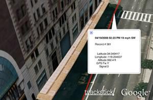 Trackstick Google Earth 5